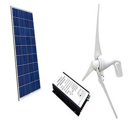 ECO-WORTHY 12 Volt 500W 500 Watt Wind Solar Power System: 1p