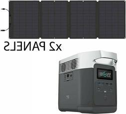 ECOFLOW DELTA 1300 BACKUP PORTABLE SOLAR GENERATOR 1800W 12V