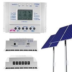 Kinbelle High Efficiency 60A 12V/24V Auto LCD MPPT Solar Bat