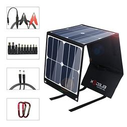 ELEGEEK Foldable 40W Solar Panel Charger for Jackery Portabl