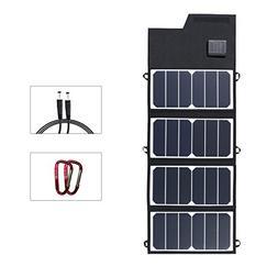 Foldable Solar Panel Charger ELEGEEK Folding Solar Panel for