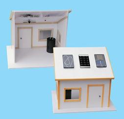 Solar Made Solar Electric House Kit for Science Fair Project