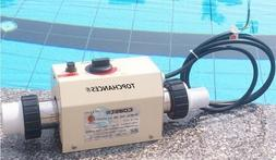 TOPCHANCES Electric Swimming Pool and SPA Thermostat - Input