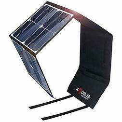 ELEGEEK 50W Foldable Solar Panel Charger For Suaoki/Goal Zer