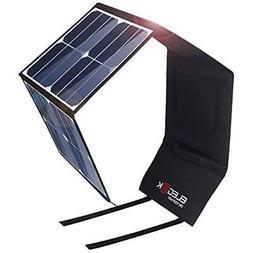 ELEGEEK Solar Panels 50W Foldable Charger Suaoki/Goal Zero P