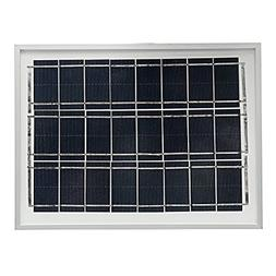 GGGarden Elfeland 12V 4W Polycrystalline A-Class Solar Panel