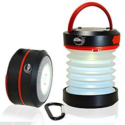 Wise Moon LED Camping Lantern Rechargeable Battery Solar Eme