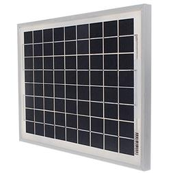 10W 12V Energy Solar Panel Battery Charger Polycrystalline 3