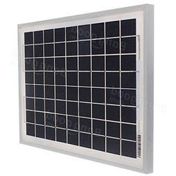 Freelance Shop Electronics 10W 12V Energy Solar Panel Batter