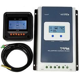 40A MPPT Solar Charge Controller +MT50 Monitor+Temp.Sensor P