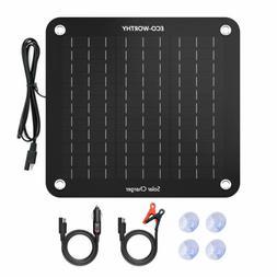 20W 12V Epoxy Solar Panel & Solar Charging Controller & Batt