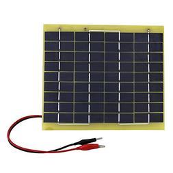 ECO-WORTHY 5W 12V Waterproof Epoxy Solar Panel Module Batter
