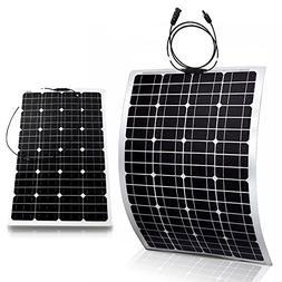 Genssi 100W Flexible Mono Monocrystalline Photovoltaic PV So