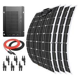 Giosolar 400 Watt 12 Volt Flexible Monocrystalline Solar Pan