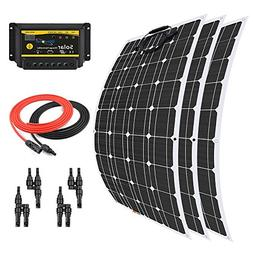Giosolar 300 Watt 12 Volt Flexible Monocrystalline Solar Pan