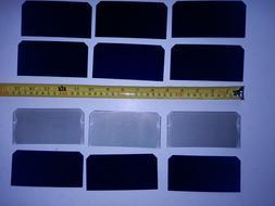"FLEXIBLE SOLAR CELLS  2.5"" x 5""   laser cut  perfect for DIY"