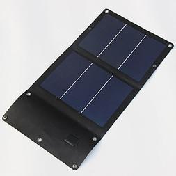 Dig Dog Bone 6W Flexible Solar Charger 2x3W Foldable Solar P