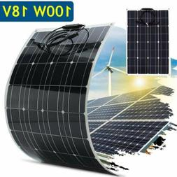 Flexible Solar Panel 18V 100W Solar Charger Monocrystalline