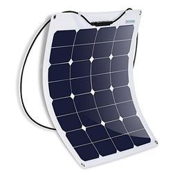 ACOPOWER 50W Flexible Solar Panel, Thin Lightweight Solar Ch