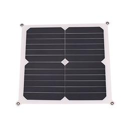 Hanbaili 13W 6V Flexible Solar Panel Cell Power Battery Char