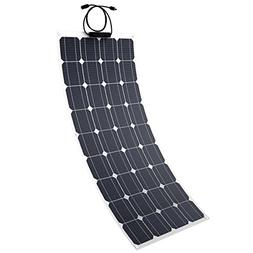 Tishi Hery 100W Flexible Solar Panel Charger 18V 12V ETFE Mo