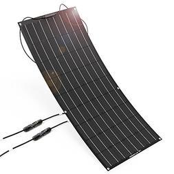 ALLPOWERS 100W 18V 12V Flexible Solar Panel Charger Semi Ben