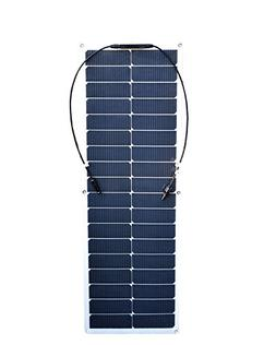 50w 18v Flexible Solar Panel Mono Cell Module for 12v Batter