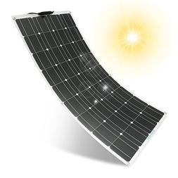 Solar Panel MOHOO 100W 18V Ultra Thin Lightweight Flexible S