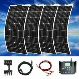 Flexible Solar Panels Mono With 20a Controller Photovoltaic