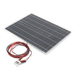 Flexible Solar Panels - Flexible Solar Panel Kit - 20W 12V S