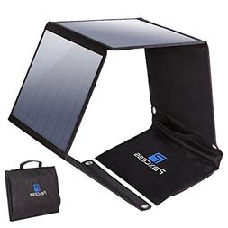 PAXCESS Foldable 50W Solar Panel Charger for Suaoki Portable