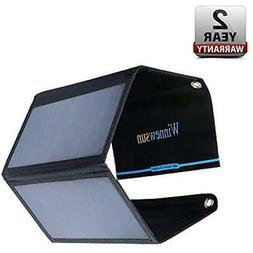 Foldable Solar Charger 28W for cell phones, iphone, iPad, iP
