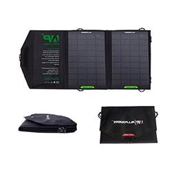 ALLPOWERS 8W Foldable Solar Charger Panel with iSolar Techno