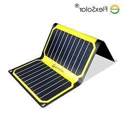 FlexSolar 16W Foldable Solar Charger Panel Portable Solar Po