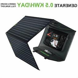 ECO 120W Foldable Solar Panel Monocrystalline Battery Genera