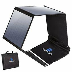 Foldable Solar Panel 50W For Suaoki Portable Generator/8mm U