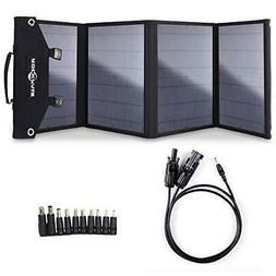 Rockpals 100W Foldable Solar Panel Charger for Suaoki Portab