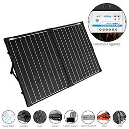 ACOPOWER UV11007GD 100W Foldable Solar Panel Kit, 12V Batter