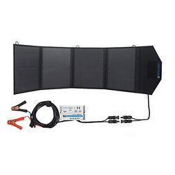 ACOPOWER HY-4x12.5W 12V 50 Watt Portable Solar Panel Kit W/