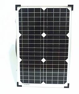 Wsolar 50w Folding Solar Panel Kit