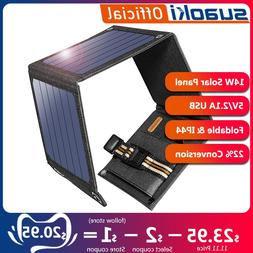 <font><b>Suaoki</b></font> 14W Sun Light <font><b>Solar</b><