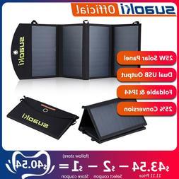 <font><b>Suaoki</b></font> 25W <font><b>Solar</b></font> <fo