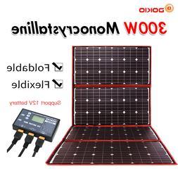 <font><b>Dokio</b></font> 300W 12V Flexible <font><b>Solar</