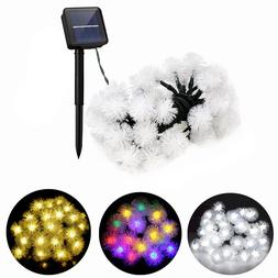 Ousam LED <font><b>Solar</b></font> String Lights Outdoor 30