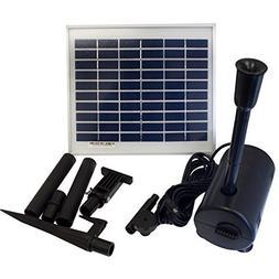 ASC 5 Watt Garden Solar Water Pump Kit