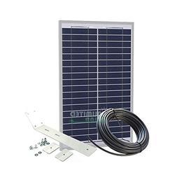 Unlimited Solar 20 Watt Solar Gate Charging Kit