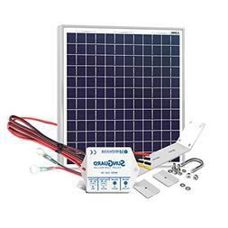 Unlimited Solar 30 Watt Solar Gate Charging Kit - PRO Series