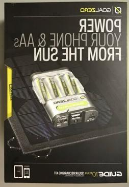 goal zero guide 10 plus recharging kit