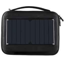ECEEN Gopro Case with 5W Solar Panel Charger&5000mAH Battery