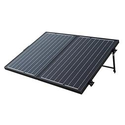 Foldable Solar Panel Suitcase With Charge Controller 100 Wat